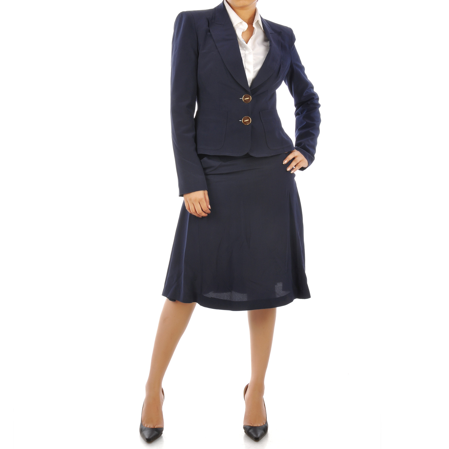Navy Blue Womens Business Suit Woltermanortho Com