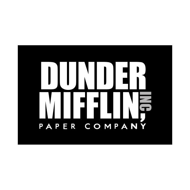 14. dunder mifflin paper inc t-shirt, the office t-shirts, tv show t-shirts dunder mifflin photo - 1