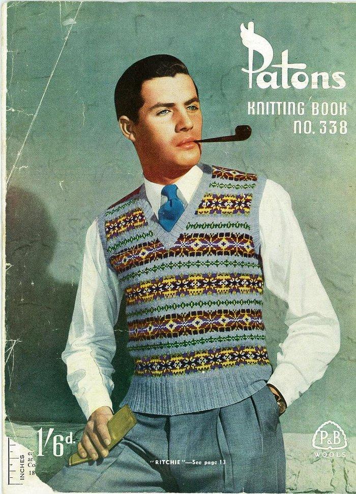 1950s men suit photo - 1