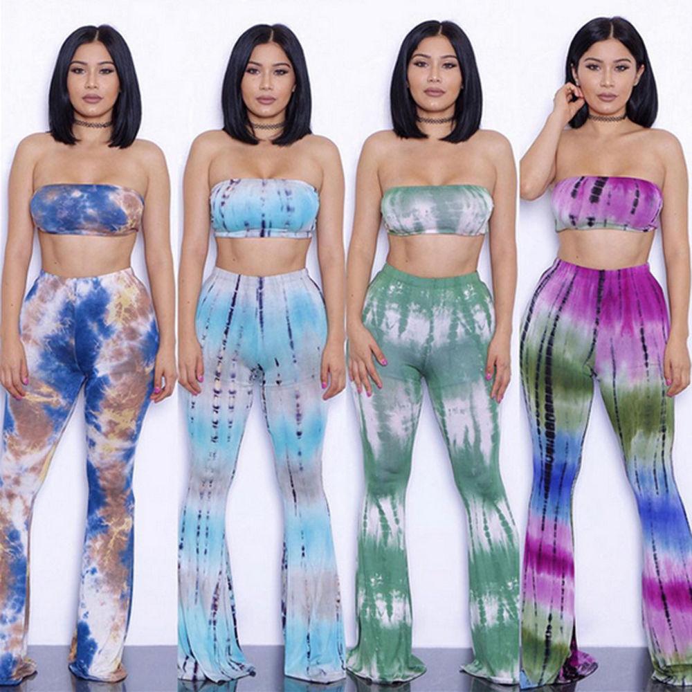 2 piece tie dye outfits photo - 1