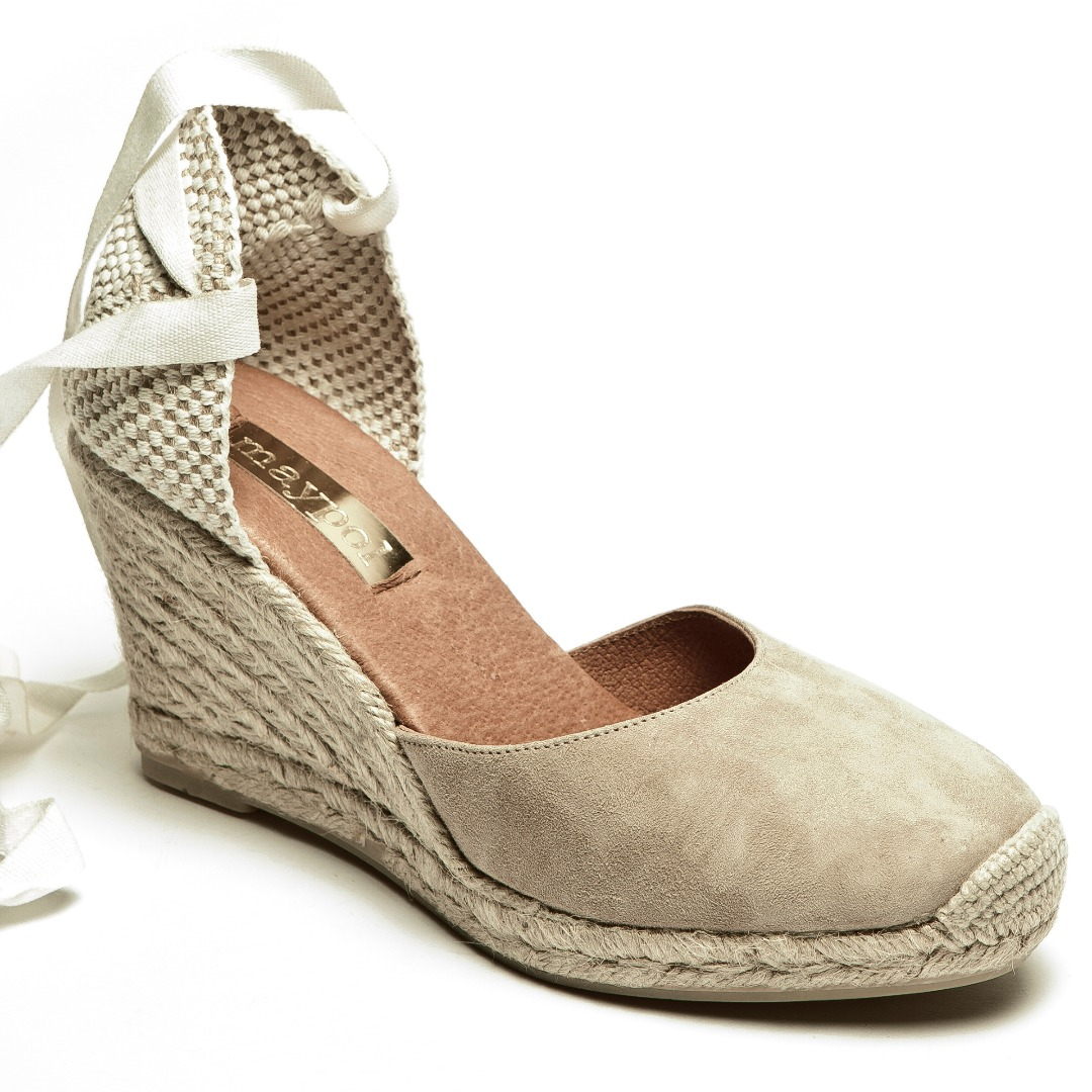 ankle tie espadrilles photo - 1
