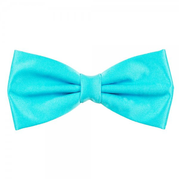 aqua bow tie photo - 1