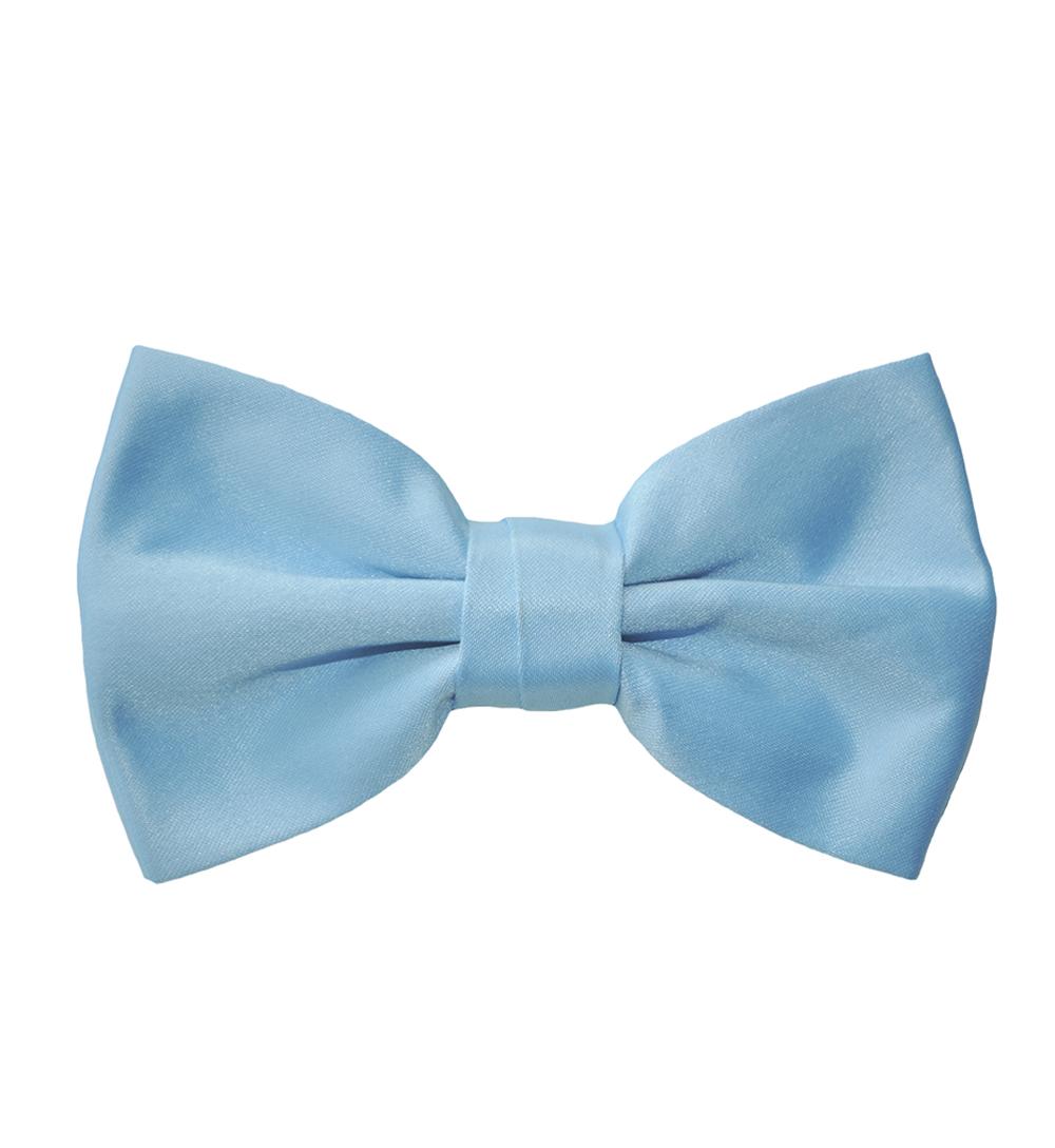 baby blue bow tie photo - 1