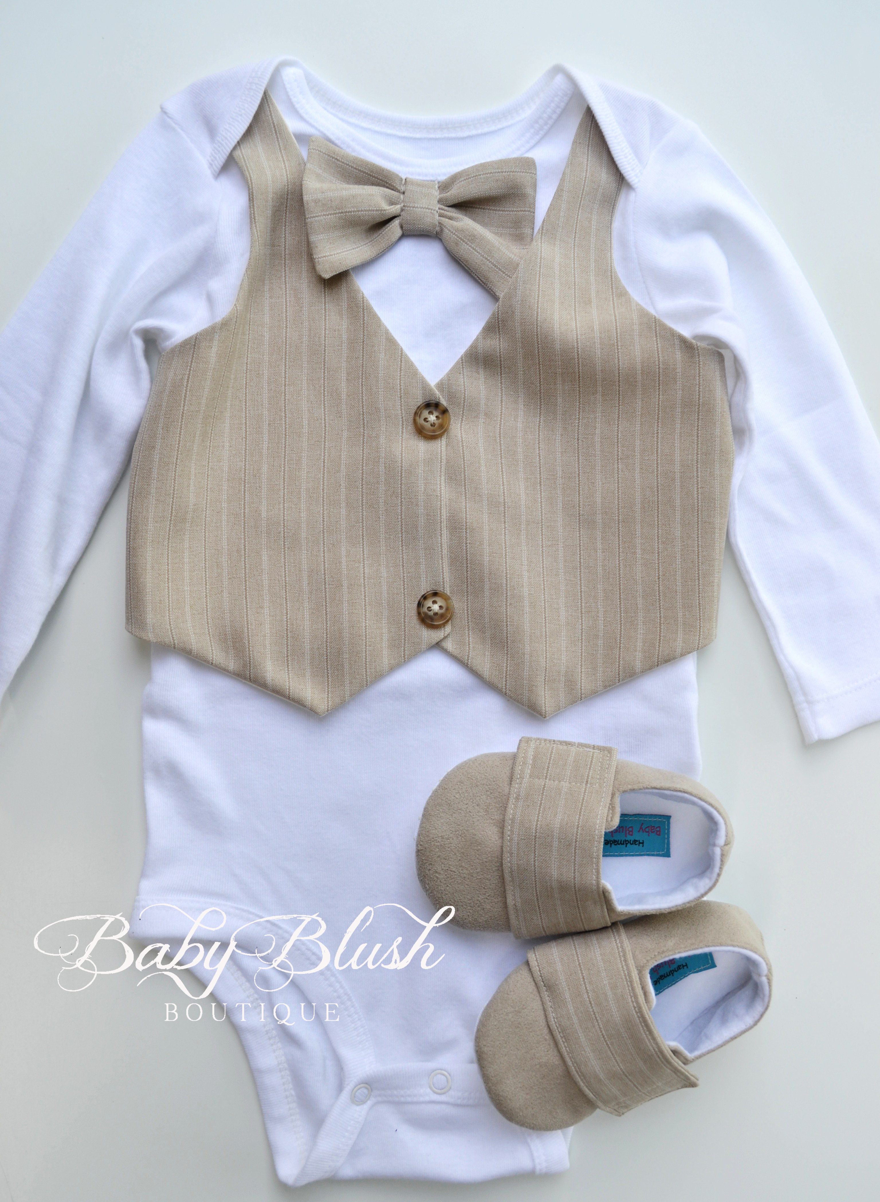 baby bow tie outfit photo - 1