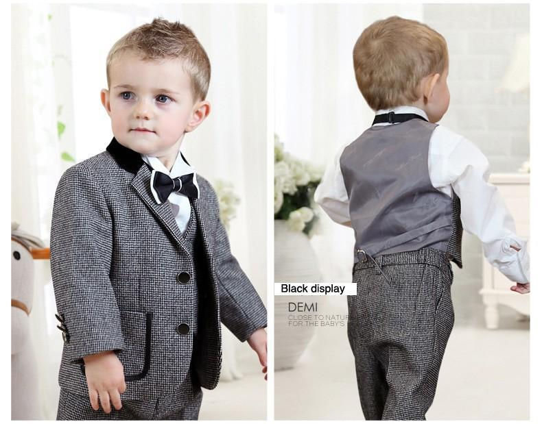 baby boy suit and tie photo - 1