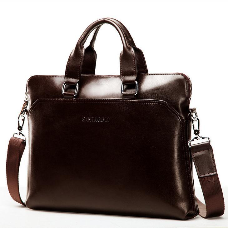best mens leather briefcase photo - 1