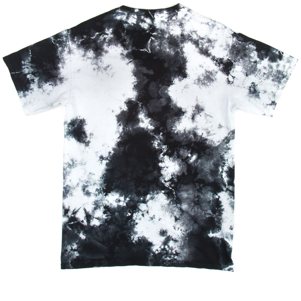 black and white tie dye photo - 1