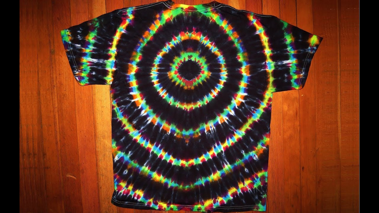 black hole tie dye photo - 1