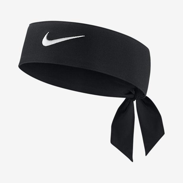 black nike tie headband photo - 1