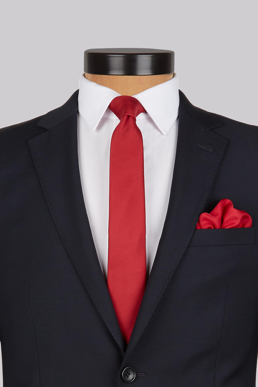 black shirt black tie photo - 1