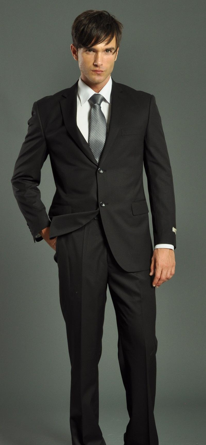 black suit men photo - 1