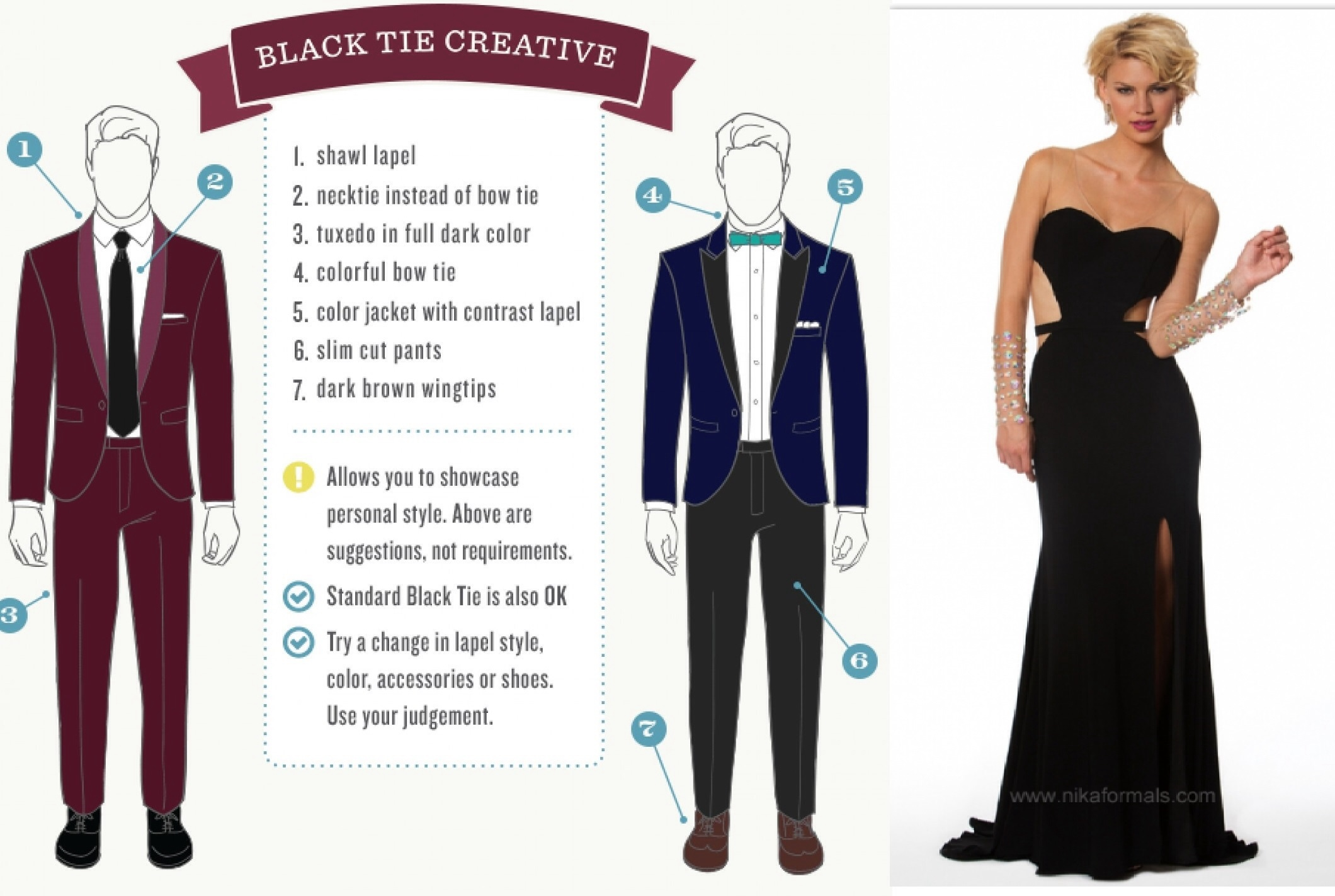 Black Tie Affair Dress Code