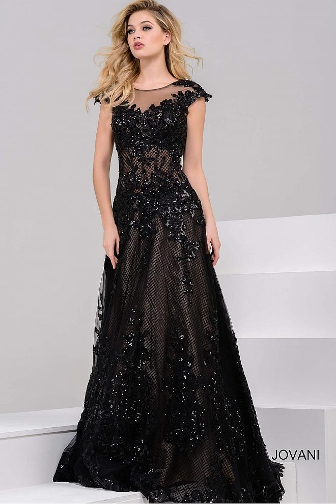 black tie evening gowns photo - 1