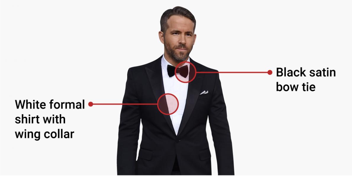 black tie event attire photo - 1