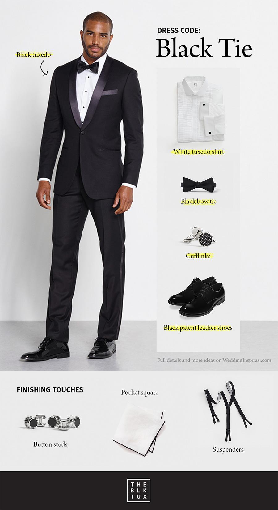 black tie optional men photo - 1