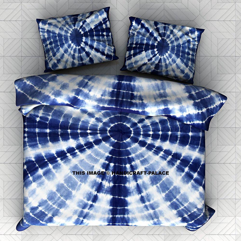 blue tie dye bedding photo - 1