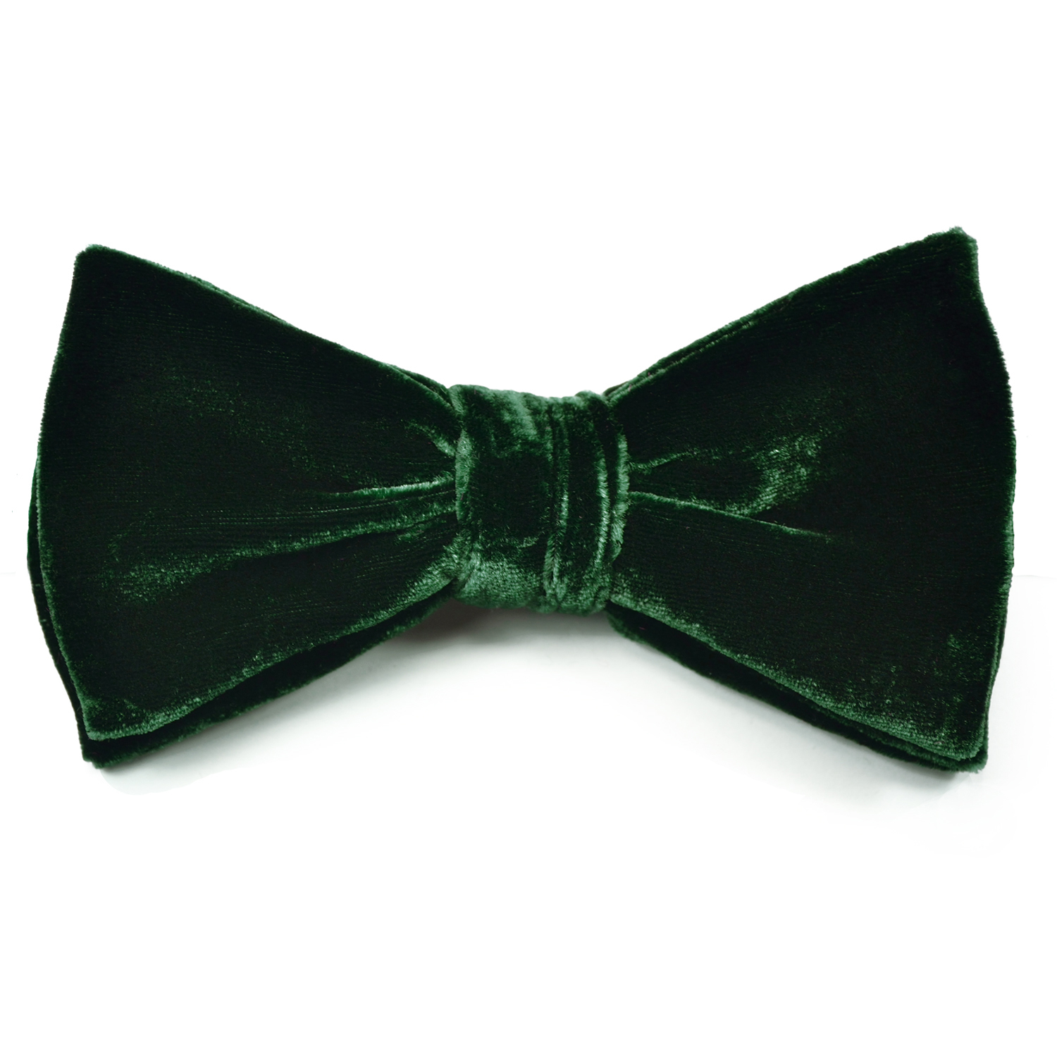 blue velvet bow tie photo - 1