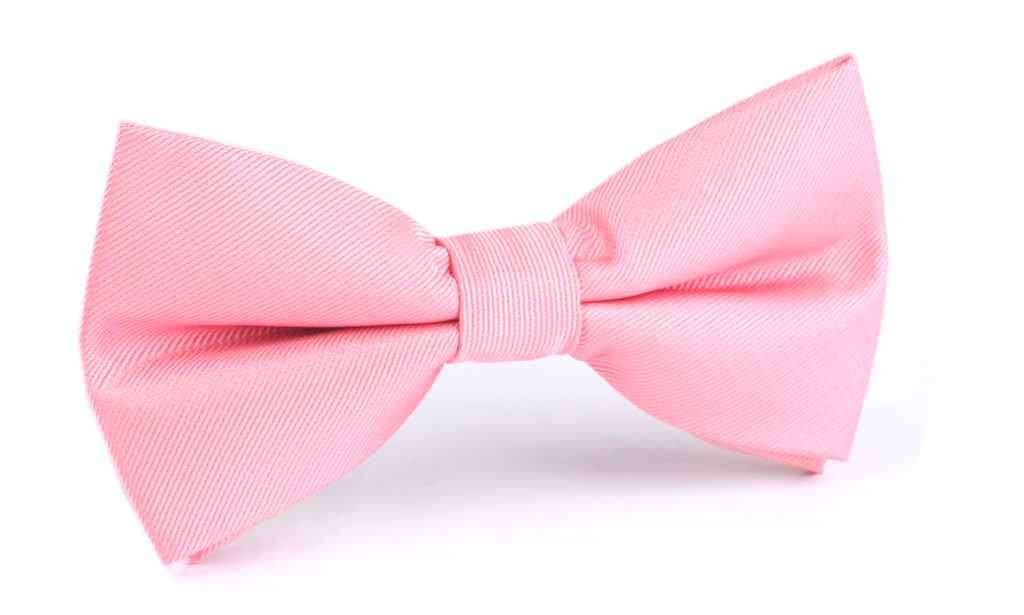 blush bow tie photo - 1