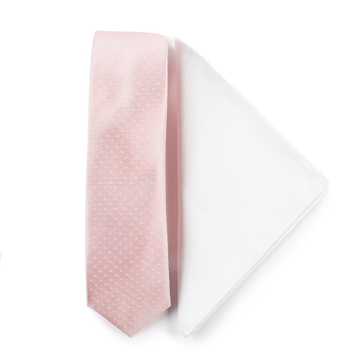 blush pink tie photo - 1