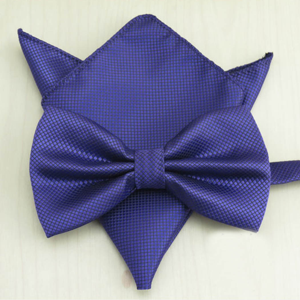 bow tie and pocket square photo - 1