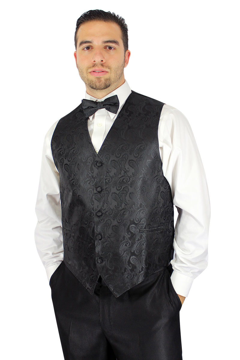 bow tie and vest photo - 1
