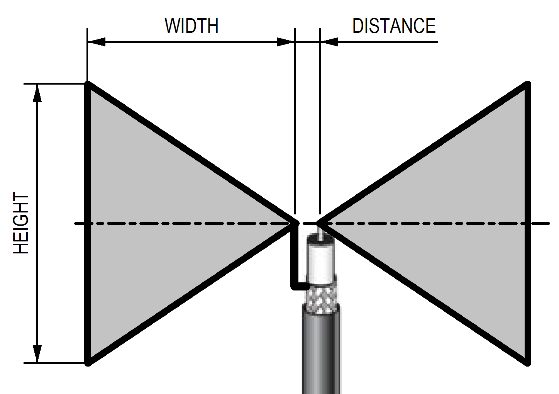 bow tie antena photo - 1