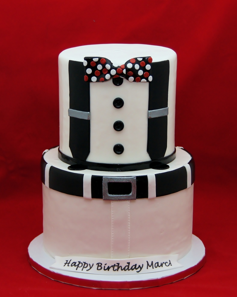 bow tie cupcake photo - 1