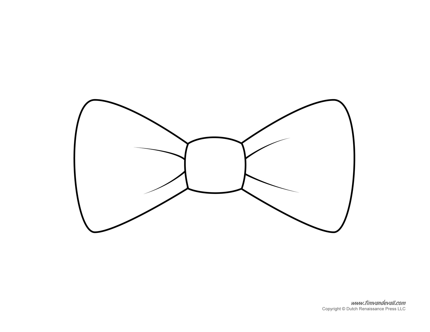 bow tie cut out photo - 1