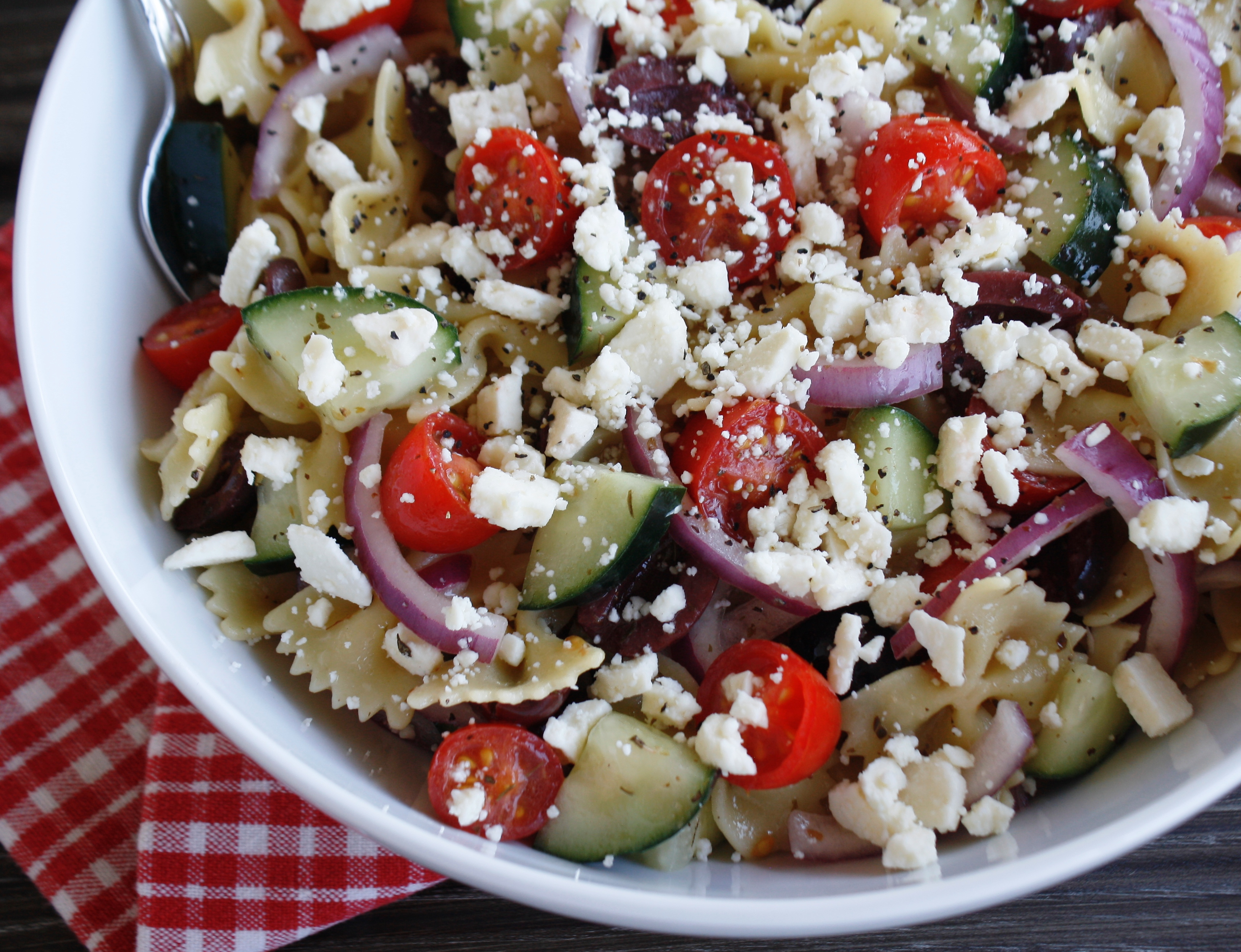 bow tie pasta salad recipes photo - 1