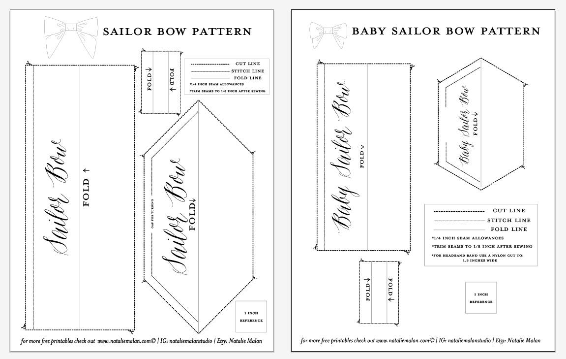 bow tie patterns pdf photo - 1