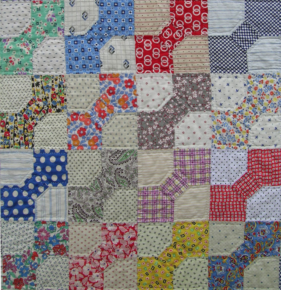 bow tie quilt pattern photo - 1