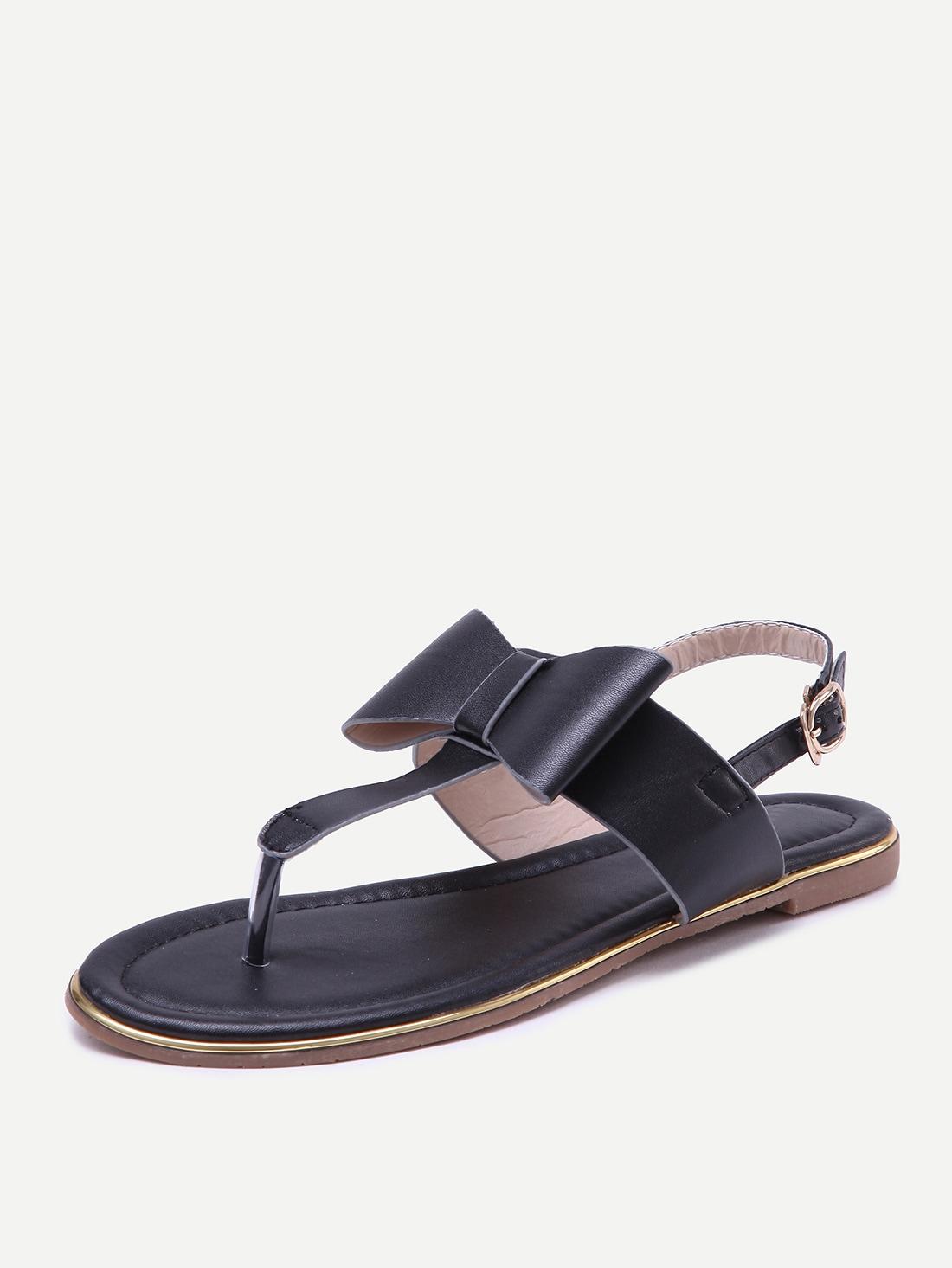 bow tie sandals photo - 1