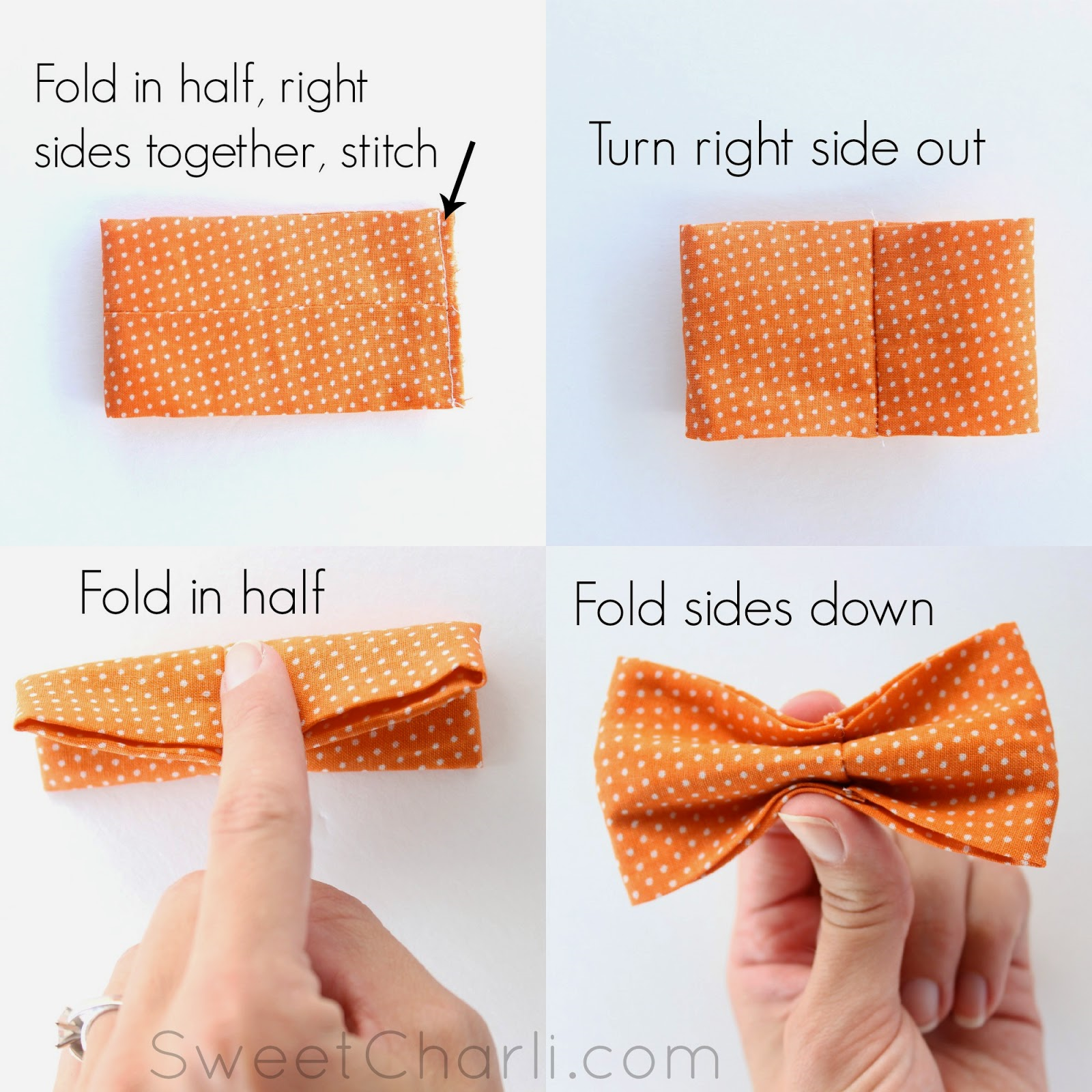 bow tie sewing pattern photo - 1