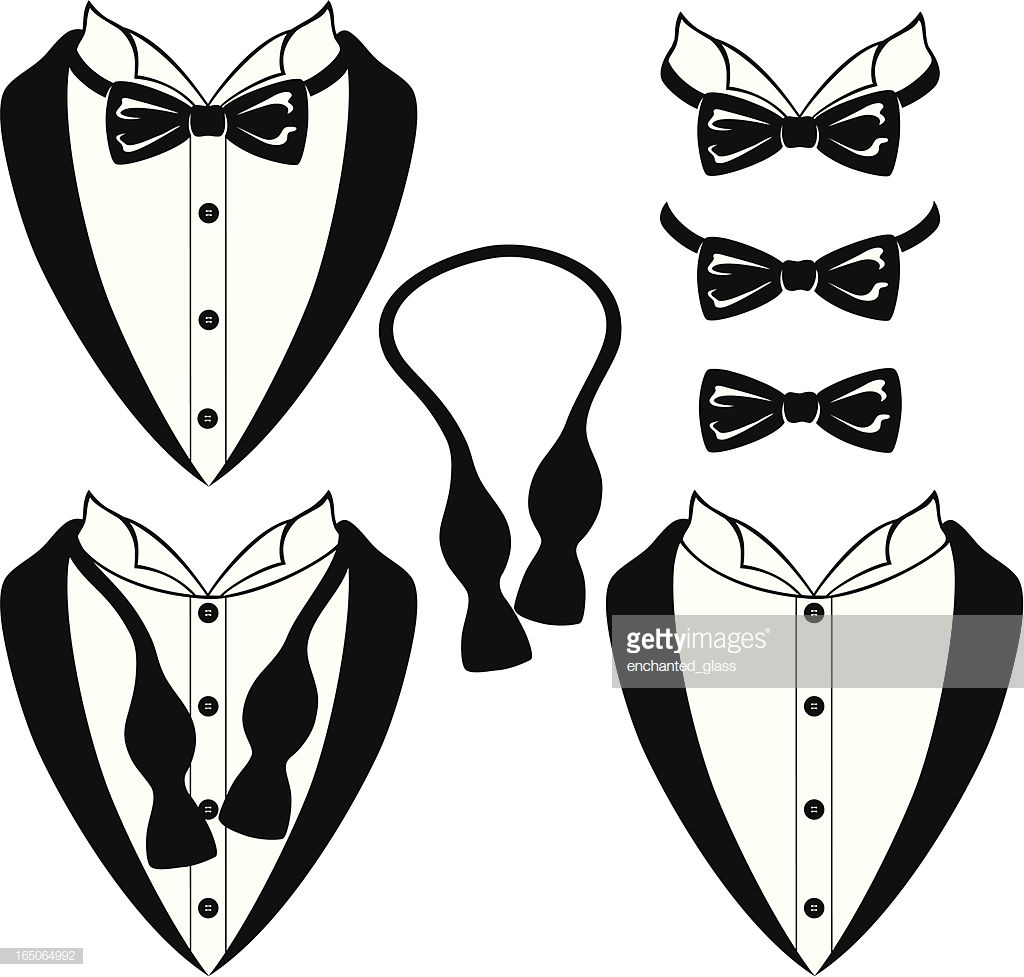 bow tie untied photo - 1