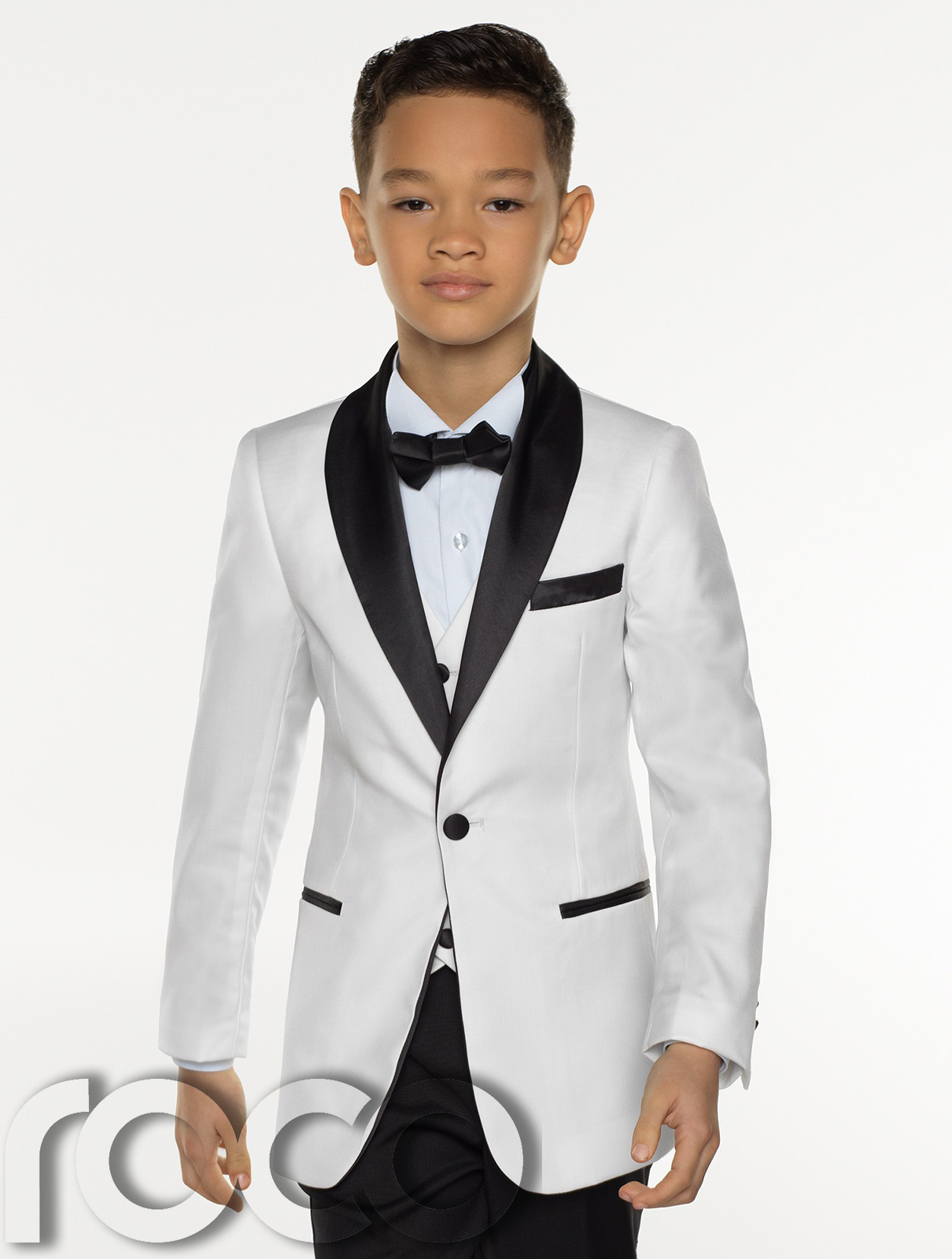 boys white tie photo - 1