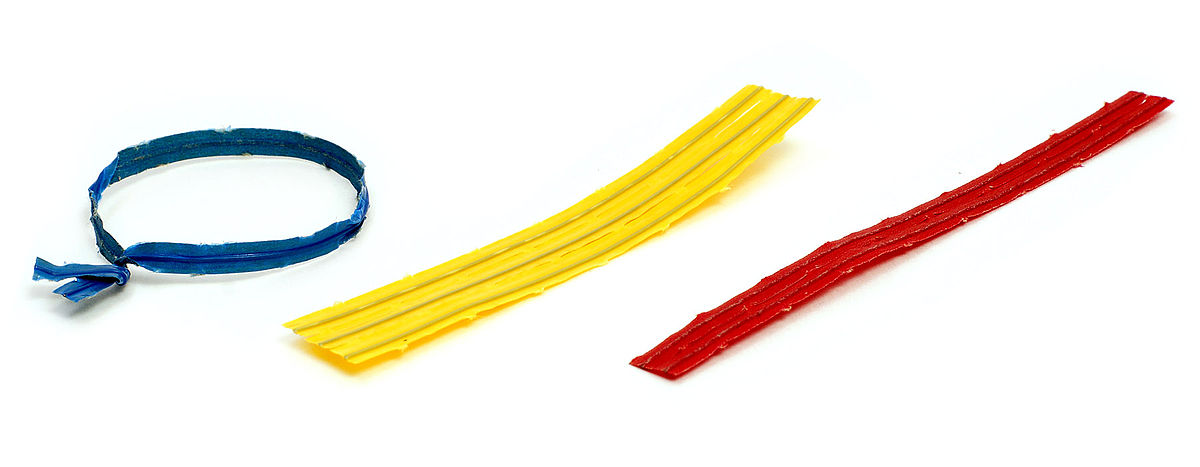 bread twist tie colors photo - 1