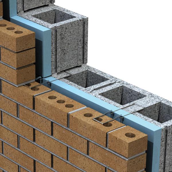 brick tie photo - 1