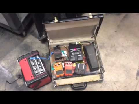 briefcase pedalboard photo - 1