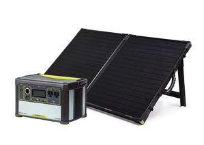 briefcase solar panel photo - 1