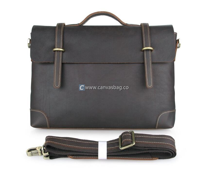 canvas briefcase photo - 1