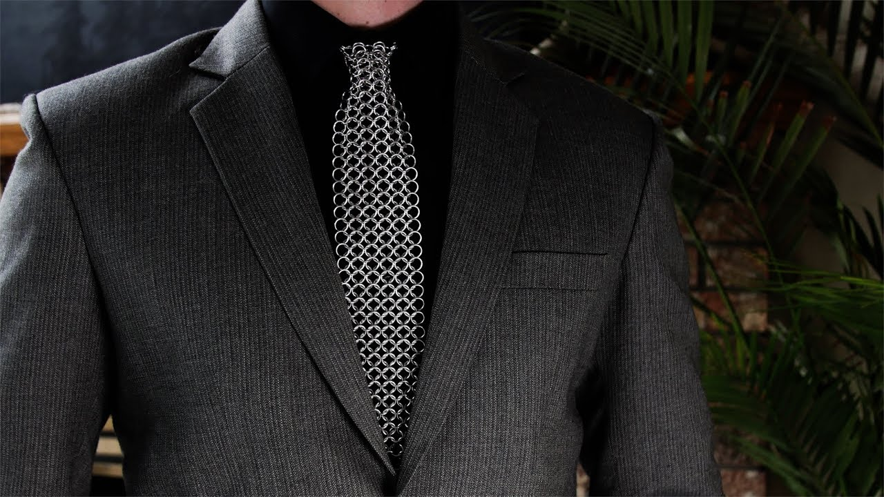 chainmail tie photo - 1