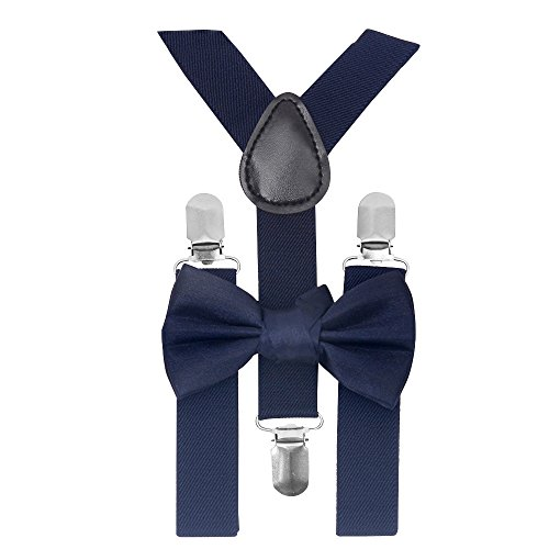 child bow tie and suspenders photo - 1