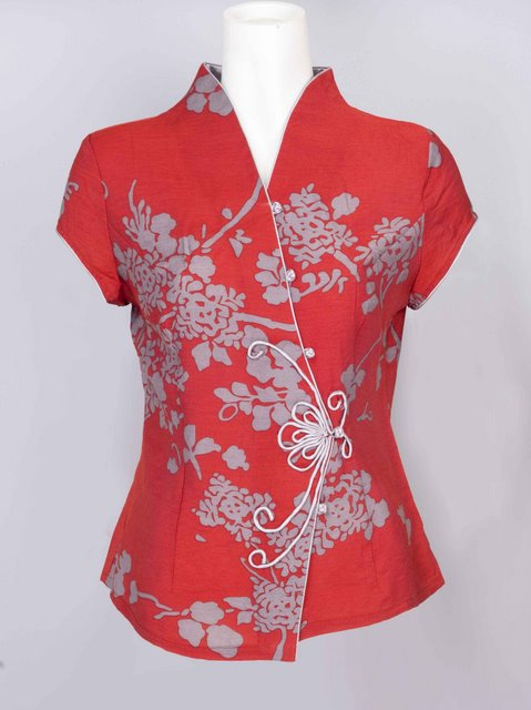 collar office shirt for women sewing photo - 1