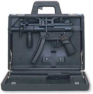 concealed weapon briefcase photo - 1