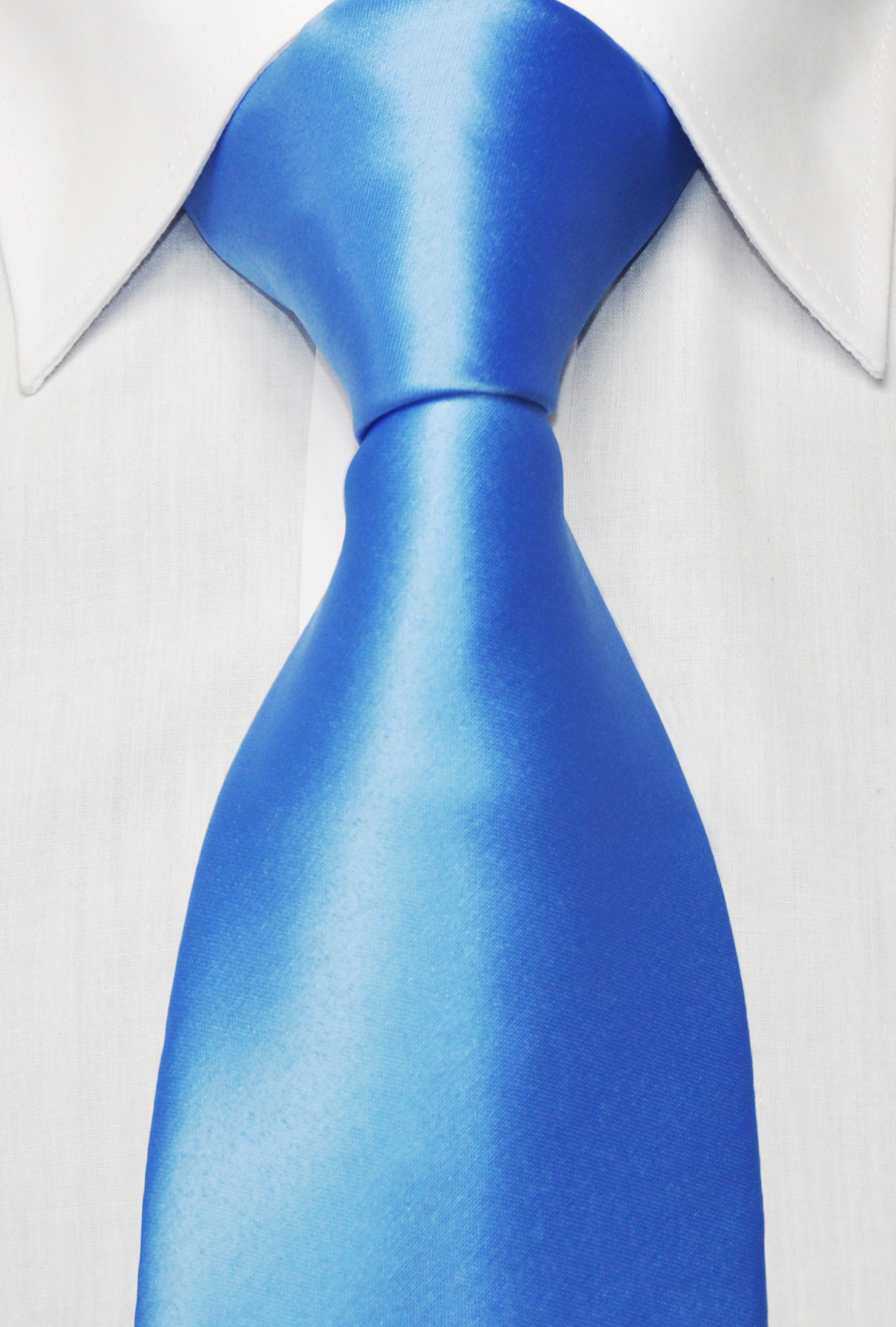 cornflower blue tie photo - 1