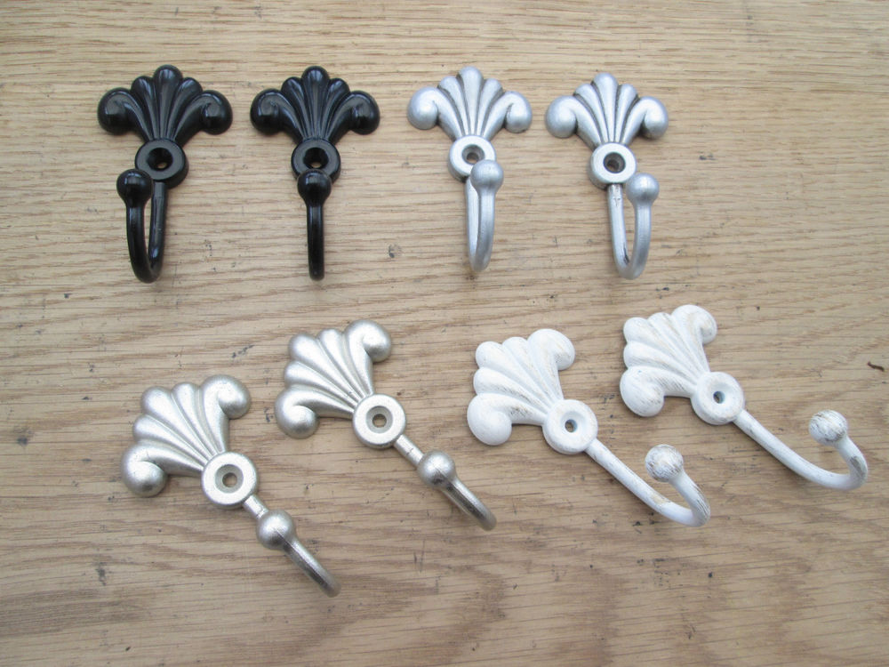 curtain tie back hooks photo - 1