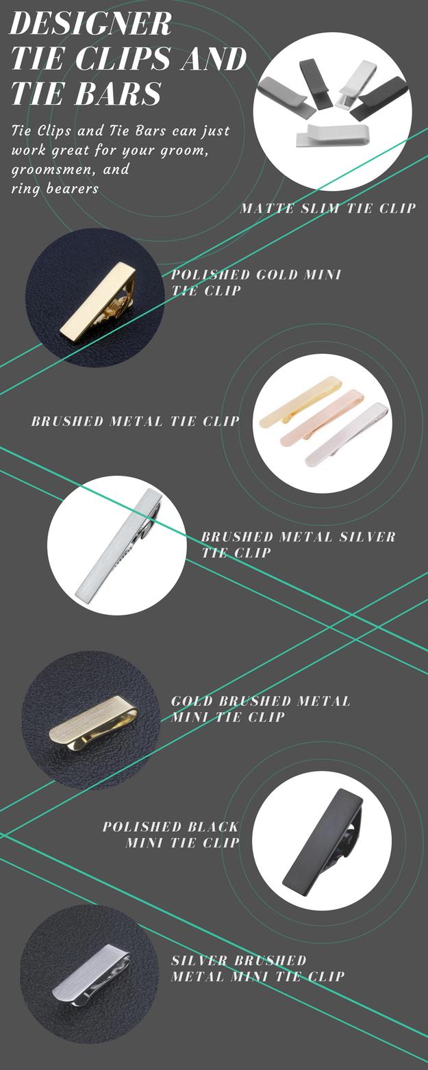 designer tie clips photo - 1