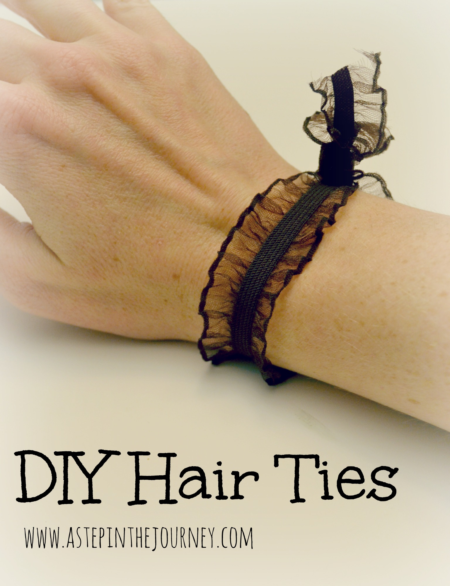 diy hair tie photo - 1