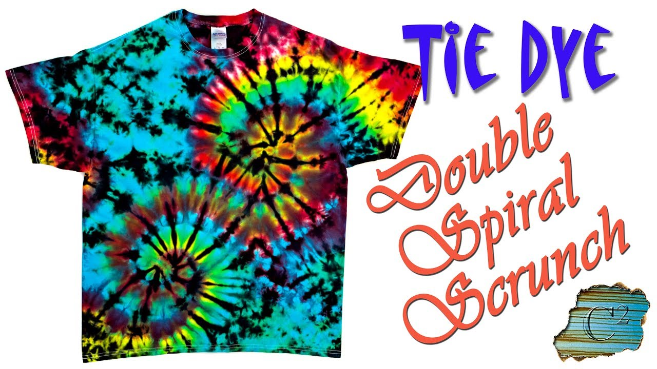 double spiral tie dye photo - 1