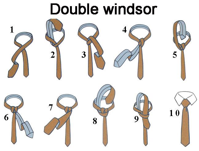 double windsor tie photo - 1